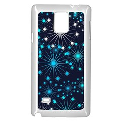 Wallpaper Background Abstract Samsung Galaxy Note 4 Case (white)