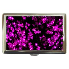 Abstract Background Purple Bright Cigarette Money Cases