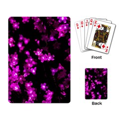 Abstract Background Purple Bright Playing Card