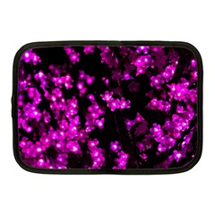 Abstract Background Purple Bright Netbook Case (medium)