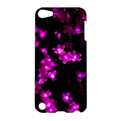 Abstract Background Purple Bright Apple Ipod Touch 5 Hardshell Case