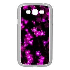 Abstract Background Purple Bright Samsung Galaxy Grand Duos I9082 Case (white)