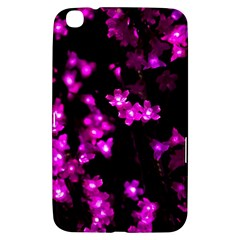 Abstract Background Purple Bright Samsung Galaxy Tab 3 (8 ) T3100 Hardshell Case