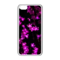 Abstract Background Purple Bright Apple Iphone 5c Seamless Case (white)