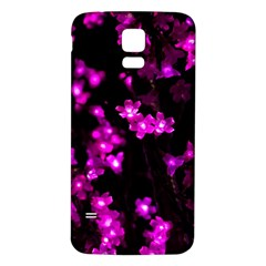 Abstract Background Purple Bright Samsung Galaxy S5 Back Case (white)