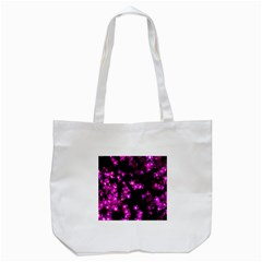 Abstract Background Purple Bright Tote Bag (white)