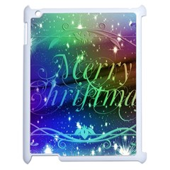 Christmas Greeting Card Frame Apple Ipad 2 Case (white)