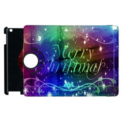 Christmas Greeting Card Frame Apple Ipad 2 Flip 360 Case