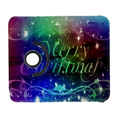 Christmas Greeting Card Frame Galaxy S3 (flip/folio)