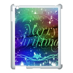 Christmas Greeting Card Frame Apple Ipad 3/4 Case (white)