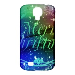 Christmas Greeting Card Frame Samsung Galaxy S4 Classic Hardshell Case (pc+silicone)