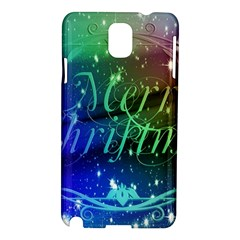 Christmas Greeting Card Frame Samsung Galaxy Note 3 N9005 Hardshell Case