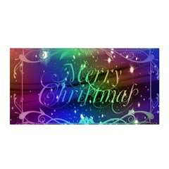 Christmas Greeting Card Frame Satin Wrap
