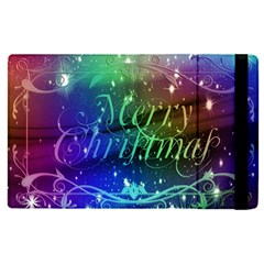 Christmas Greeting Card Frame Apple Ipad Pro 12 9   Flip Case