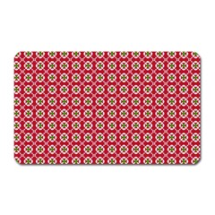 Christmas Wrapping Paper Magnet (rectangular)