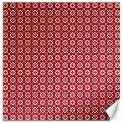 Christmas Wrapping Paper Canvas 12  X 12