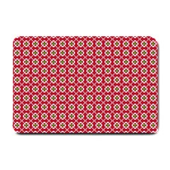 Christmas Wrapping Paper Small Doormat