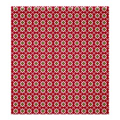 Christmas Wrapping Paper Shower Curtain 66  X 72  (large)