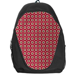 Christmas Wrapping Paper Backpack Bag