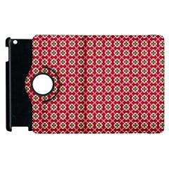 Christmas Wrapping Paper Apple Ipad 3/4 Flip 360 Case