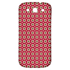 Christmas Wrapping Paper Samsung Galaxy S3 S Iii Classic Hardshell Back Case
