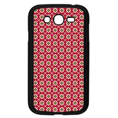 Christmas Wrapping Paper Samsung Galaxy Grand Duos I9082 Case (black)