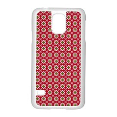 Christmas Wrapping Paper Samsung Galaxy S5 Case (white)