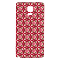Christmas Wrapping Paper Galaxy Note 4 Back Case