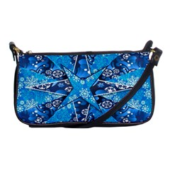 Christmas Background Wallpaper Shoulder Clutch Bags