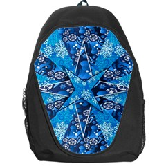 Christmas Background Wallpaper Backpack Bag