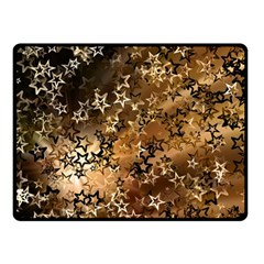 Star Sky Graphic Night Background Fleece Blanket (small)
