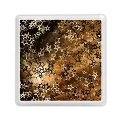 Star Sky Graphic Night Background Memory Card Reader (square)