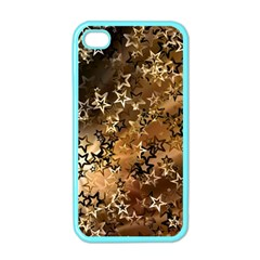 Star Sky Graphic Night Background Apple Iphone 4 Case (color)