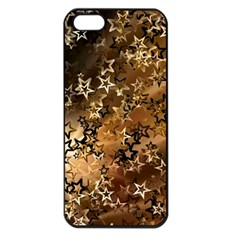 Star Sky Graphic Night Background Apple Iphone 5 Seamless Case (black)