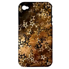 Star Sky Graphic Night Background Apple Iphone 4/4s Hardshell Case (pc+silicone)