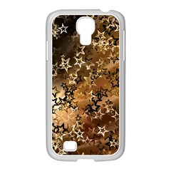 Star Sky Graphic Night Background Samsung Galaxy S4 I9500/ I9505 Case (white)