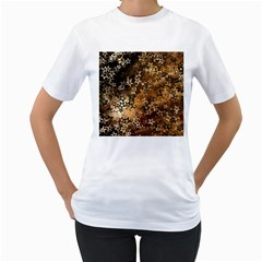 Star Sky Graphic Night Background Women s T Shirt (white)