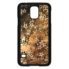 Star Sky Graphic Night Background Samsung Galaxy S5 Case (black)