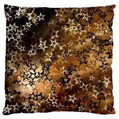 Star Sky Graphic Night Background Large Flano Cushion Case (one Side)