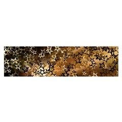 Star Sky Graphic Night Background Satin Scarf (oblong)
