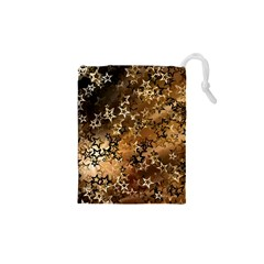 Star Sky Graphic Night Background Drawstring Pouches (xs)