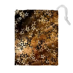 Star Sky Graphic Night Background Drawstring Pouches (extra Large)