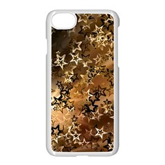 Star Sky Graphic Night Background Apple Iphone 7 Seamless Case (white)