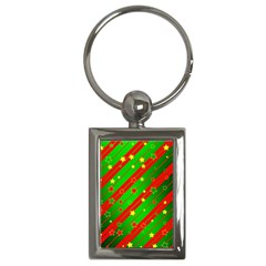 Star Sky Graphic Night Background Key Chains (rectangle)