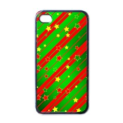 Star Sky Graphic Night Background Apple Iphone 4 Case (black)