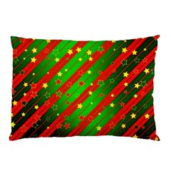 Star Sky Graphic Night Background Pillow Case (two Sides)