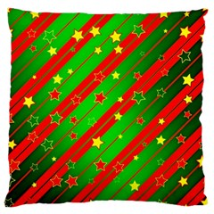 Star Sky Graphic Night Background Large Cushion Case (one Side)