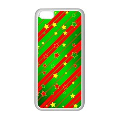 Star Sky Graphic Night Background Apple Iphone 5c Seamless Case (white)