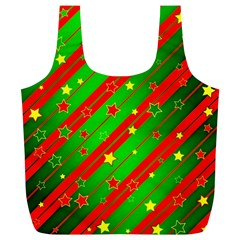 Star Sky Graphic Night Background Full Print Recycle Bags (l)