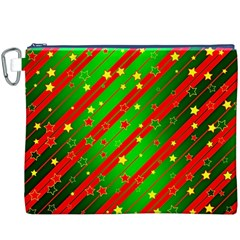 Star Sky Graphic Night Background Canvas Cosmetic Bag (xxxl)